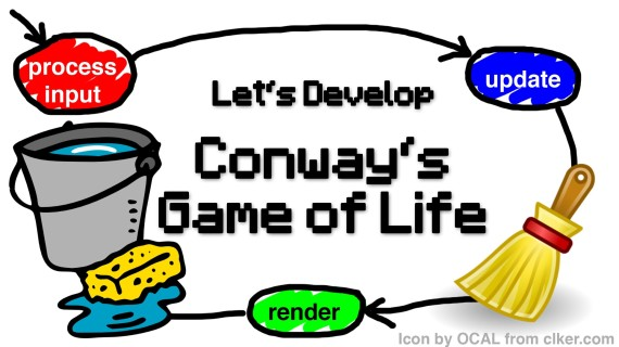 [LD] Conway's Game of Life #14 – Game Loop – Test Cleanup | Let's Develop