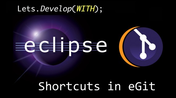 [LD] Git in Eclipse – Commit with Shortcut | Let's Develop With