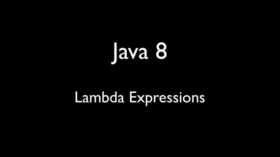 [LD] Java 8 – Lambda Expressions | Let's Develop With