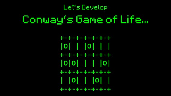 Conway's Game of Life #25 – Finally, UI