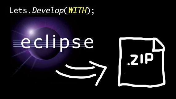 Eclipse – Export Project to ZIP